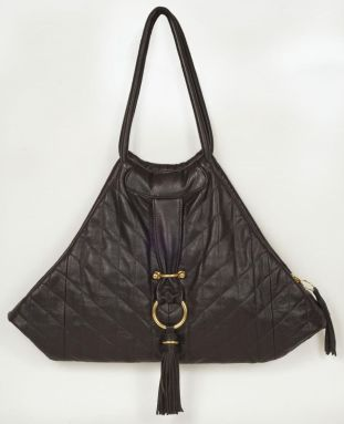 quilted stingray bag