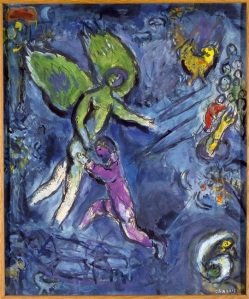 Jacob Wrestling With The Angel - Chagall