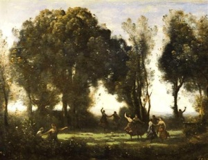 A painting by Corot