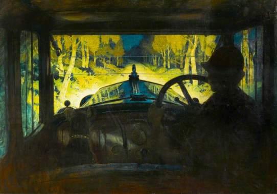 Salisbury, Frank O.; The Enchanted Road; Herbert Art Gallery & Museum; http://www.artuk.org/artworks/the-enchanted-road-55071